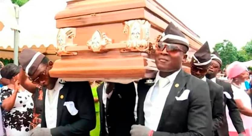 You are currently viewing Ghana's dancing pallbearers