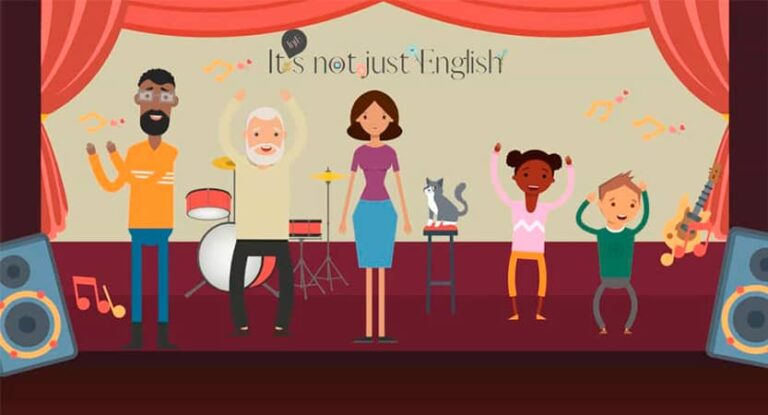 Learn English singing.