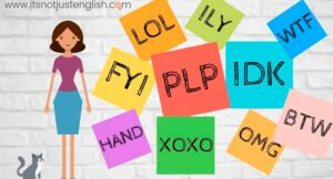 Learning English with acronyms