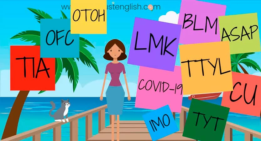 Learning English with acronyms II
