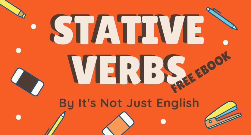 Stative verbs – Ebook
