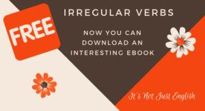 Irregular verbs – Ebook